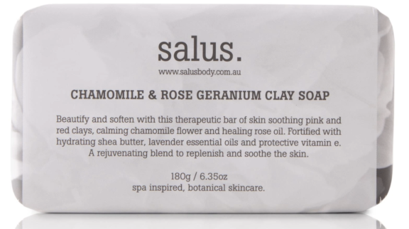 beauty-on-rose-salus-wash-chamomile-and-rose-geranium-clay-soap-bar-180g