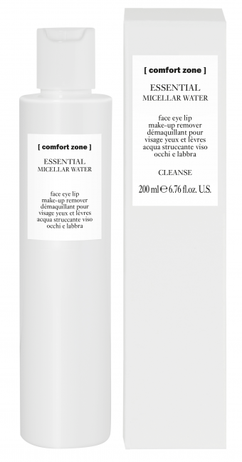 Cz10995 Comfort Zone Essential Micellar Water 200ml (with Packaging) Min