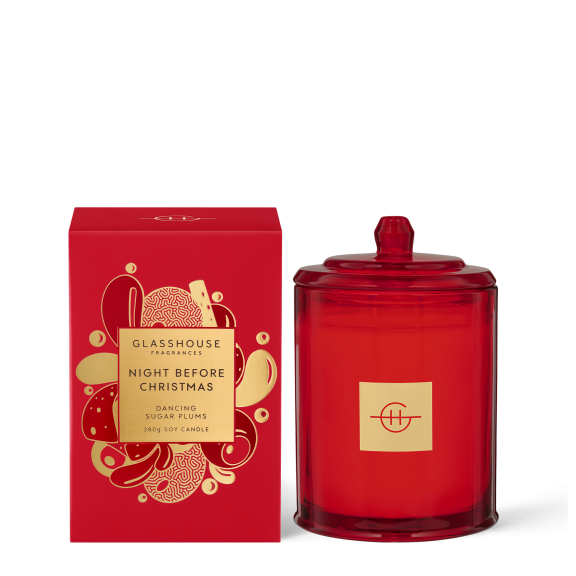Night Before Christmas Candle 380g