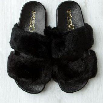 Gingerlilly Black Slipper